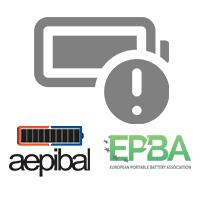 AEPIBAL y EPBA por el uso seguro de las baterías portátiles