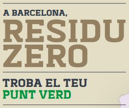 A Barcelona, Residu zero