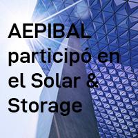AEPIBAL participó en Solar & Storage