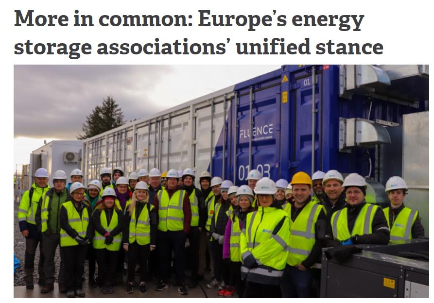 Aparición en prensa en Energy Storage News.